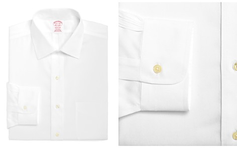 Brooks Brothers Non-Iron Solid Classic Fit Dress Shirt - Bloomingdale's_2
