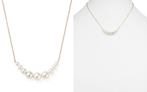 """14K Yellow Gold Cultured Freshwater Pearl Necklace, 18"""" - Bloomingdale's_2"""