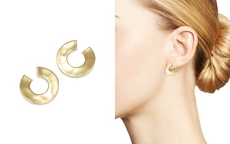 IPPOLITA 18K Yellow Gold Senso™ Open Wavy Disc Earrings - Bloomingdale's_2