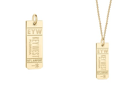 Jet Set Candy EYW Key West Luggage Tag Charm - Bloomingdale's_2