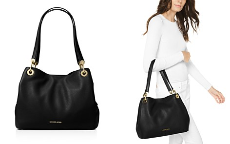 MICHAEL Michael Kors Raven Large Pebbled Leather Shoulder Tote - Bloomingdale's_2