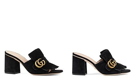 Gucci Marmont Mid Heel Slide Sandals - Bloomingdale's_2