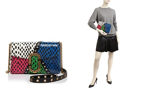 MARC JACOBS St. Marc Snake-Embossed Leather Clutch - Bloomingdale's_2