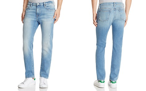 FRAME L'Homme Skinny Fit Jeans in Barkley - Bloomingdale's_2