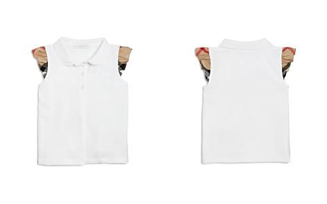 Burberry Girls' Mini Tia Ruffle Sleeve Polo Shirt - Baby - Bloomingdale's_2