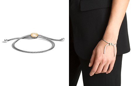 John Hardy Sterling Silver and 18K Bonded Gold Classic Chain Hammered Ball Bracelet - Bloomingdale's_2