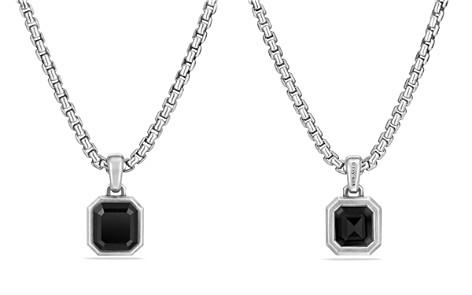 David Yurman Petrvs Emerald Cut Amulet with Black Onyx - Bloomingdale's_2