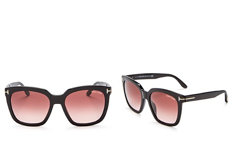 Tom Ford Amarra Oversized Square Sunglasses, 55mm - Bloomingdale's_2