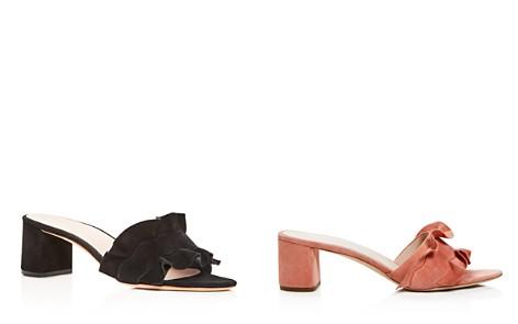 Loeffler Randall Vera Ruffle Block Heel Slide Sandals - Bloomingdale's_2