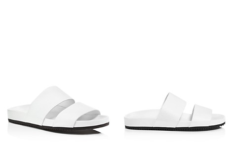 Vince Women's Georgie Leather Pool Slide Sandals - Bloomingdale's_2