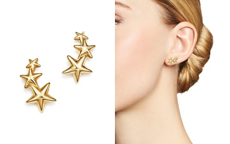 14K Yellow Gold Triple Star Climber Earrings - 100% Exclusive - Bloomingdale's_2