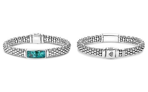 LAGOS Sterling Silver Maya Escape Chrysocolla Doublet Rope Bracelet - Bloomingdale's_2