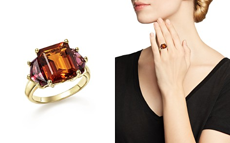 Citrine and Garnet Statement Ring in 14K Yellow Gold - 100% Exclusive - Bloomingdale's_2