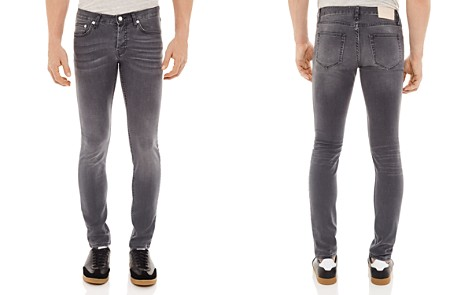 Sandro Pixies Washed Slim Fit Jeans in Grey - Bloomingdale's_2