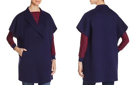 Armani Collezioni Cap-Sleeve Coat - Bloomingdale's_2