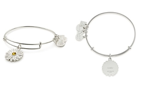 Alex and Ani Daisy Expandable Wire Bangle - Bloomingdale's_2