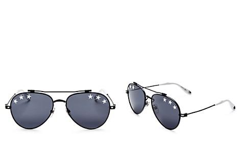 Givenchy Men's Embellished Aviator Sunglasses, 58mm - Bloomingdale's_2