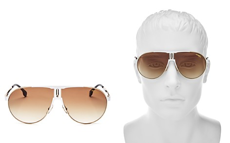 Carrera Men's Aviator Shield Sunglasses, 70mm - Bloomingdale's_2