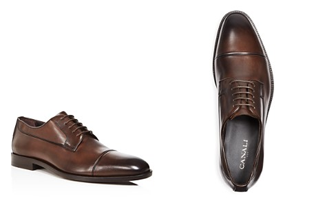 Canali Stock Cap Toe Derby Shoes - Bloomingdale's_2