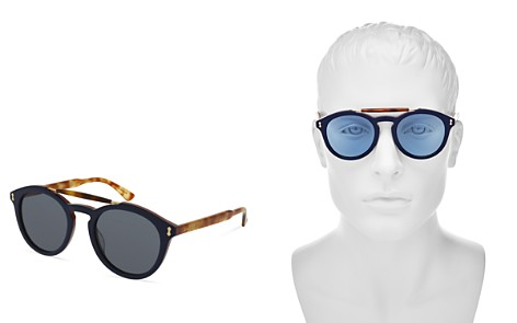 Gucci Top Bar Round Sunglasses, 50mm - Bloomingdale's_2