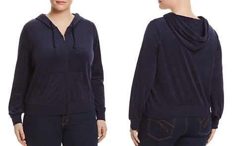 Juicy Couture Black Label Robertson Microterry Zip Hoodie - 100% Exclusive - Bloomingdale's_2