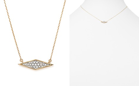 "Adina Reyter 14K Yellow Gold Pavé Diamond Pendant Necklace, 15"" - Bloomingdale's_2"