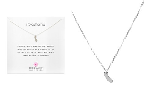 "Dogeared I Love California Necklace, 16"" - Bloomingdale's_2"