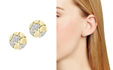 Diamond Stud Earrings in 14K Yellow Gold, .20 ct. t.w. - 100% Exclusive - Bloomingdale's_2