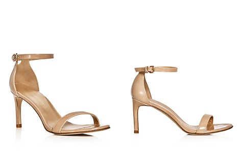 Stuart Weitzman Nunaked Ankle Strap Sandals - Bloomingdale's_2