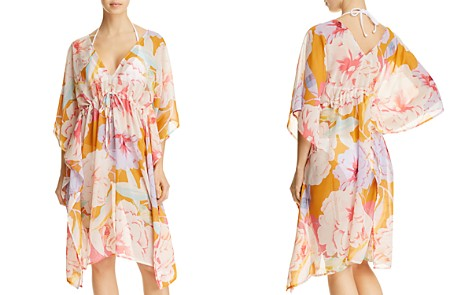 Echo Cambon Floral Dress Swim Cover-Up - Bloomingdale's_2