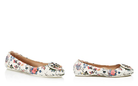 Tory Burch Minnie Floral Print Travel Ballet Flats - Bloomingdale's_2