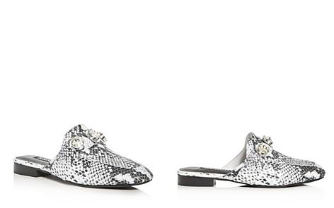 SENSO Rio Snake Embossed Embellished Loafer Mules - Bloomingdale's_2