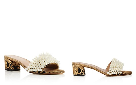 Tory Burch Tatiana Embellished Brocade Slide Sandals - Bloomingdale's_2
