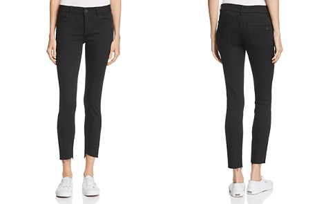 DL1961 Margaux Skinny Ankle Jeans in Noir - 100% Exclusive - Bloomingdale's_2