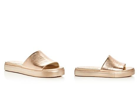 1.STATE Joaquin Metallic Slide Sandals - Bloomingdale's_2