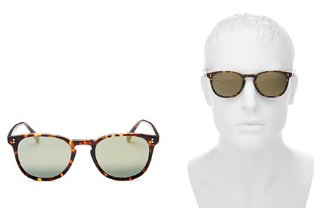 Oliver Peoples Men's Polarized Finley Esq. Mirrored Sunglasses, 51mm - Bloomingdale's_2