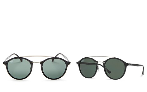 Ray-Ban Brow Bar Round Sunglasses, 48mm - Bloomingdale's_2