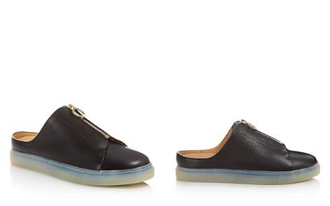 Pairs in Paris Trudaine Leather Sneaker Mules - 100% Exclusive - Bloomingdale's_2