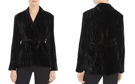 Whistles Crushed Velvet Jacket - 100% Exclusive - Bloomingdale's_2