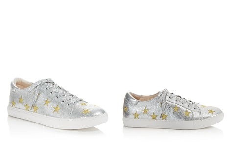 Kenneth Cole Kam Star Metallic Leather Lace Up Sneakers - 100% Exclusive - Bloomingdale's_2