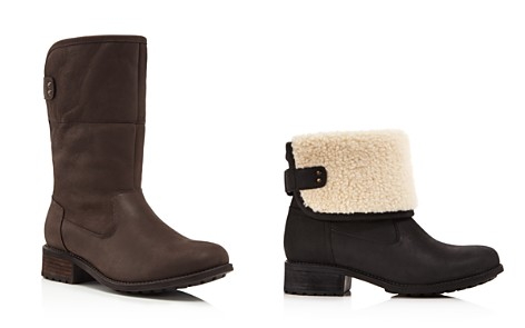 UGG® Aldon Water Resistant Leather Boots - Bloomingdale's_2