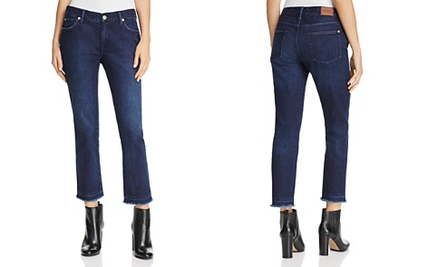 Burberry Slim Crop Jeans in Dark Indigo - 100% Exclusive - Bloomingdale's_2