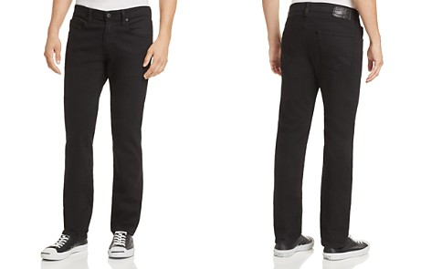 AG Jeans Graduate New Tapered Slim Straight Fit Jeans in Sulfur True Black - Bloomingdale's_2