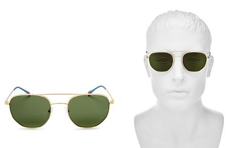 Prada Linea Ross Brow Bar Round Sunglasses, 53mm - Bloomingdale's_2