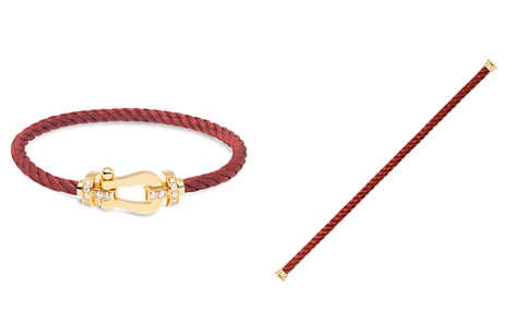 Fred Force 10 Large Cable Bracelets and 18K Yellow Gold Buckles - Bloomingdale's_2