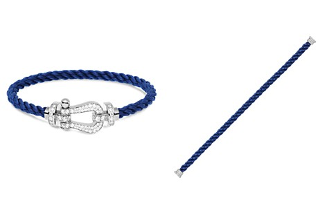 Fred Force 10 Large Cable Bracelets and 18K White Gold Buckles - Bloomingdale's_2