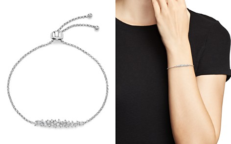 Diamond Cluster Bolo Bracelet in 14K White Gold, .50 ct. t.w. - 100% Exclusive - Bloomingdale's_2