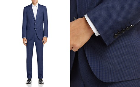 BOSS Hugo Boss Tonal Micro Pattern Slim Fit Suit - 100% Exclusive - Bloomingdale's_2