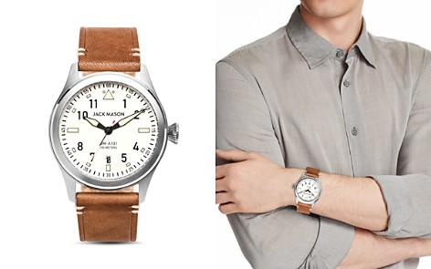 Jack Mason Aviator Watch, 42mm - Bloomingdale's_2