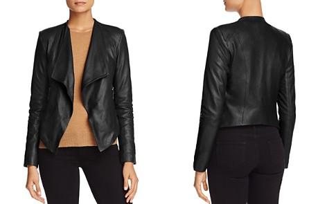 BB DAKOTA Brycen Leather Jacket - Bloomingdale's_2